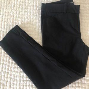 LOFT Marisa Skinny Ankle Pants in Black